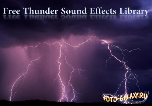 Free Thunder Sound Effects Library