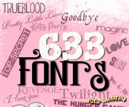 Donas Fonts Pack Collection HD