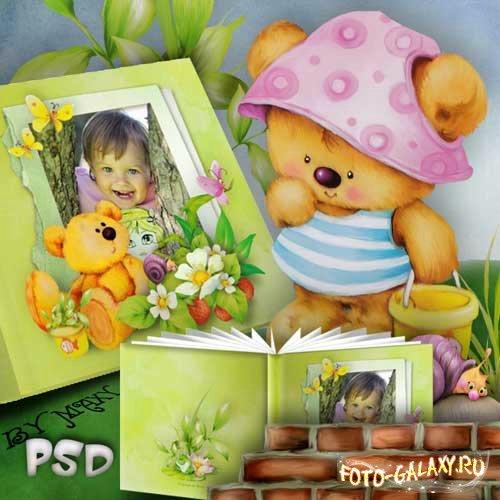 Рамки - детская фотокнига - Книжка с картинками ...: http://foto-galaxy.ru/photobook/10317-ramki-detskaya-fotokniga-knizhka-s-kartinkami.html