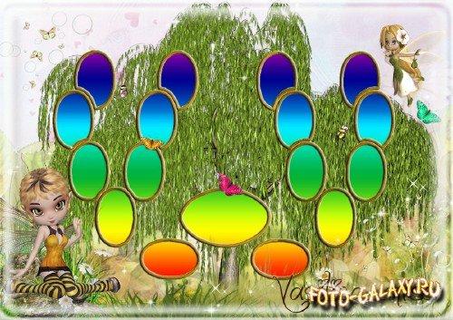 Семейное дерево с феями для девочек