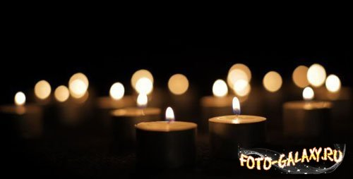 Candles Burning in the Dark by foto-galaxy