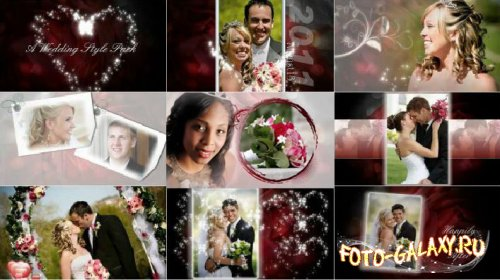 Wedding Theme Pack - Project for ProShow Producer скачать бесплатно с foto-galaxy