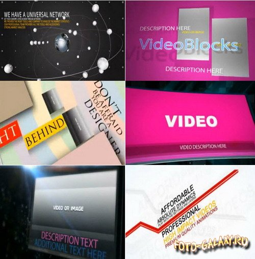 Advertising Pack - After Effects Templates