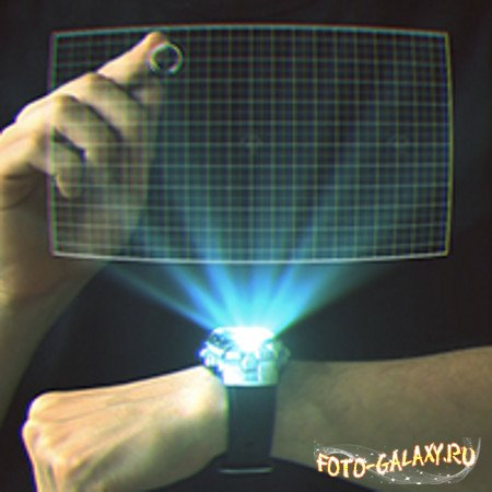 Create a Retro 3D Hologram Watch in After Effects скачать бесплатно с foto-galaxy
