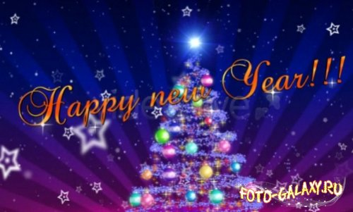VideoHive - New Year Intro After Effects Project скачать бесплатно с foto-galaxy