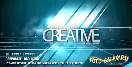 After Effect Project - Corporate Logo Intro скачать бесплатно с foto-galaxy