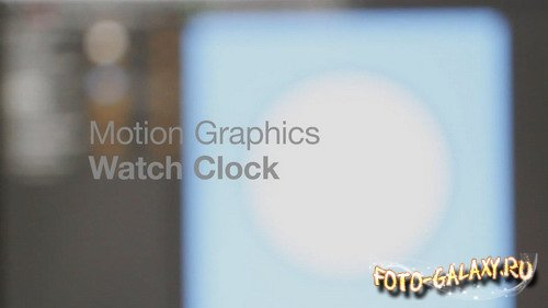 Clock Watch - Project for After Effects