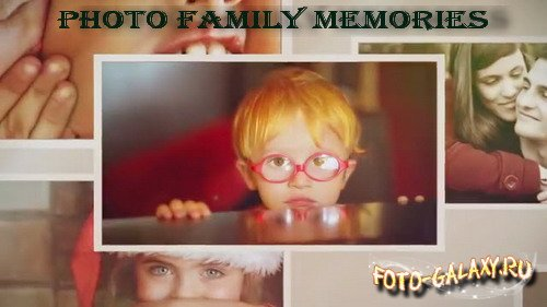 Photo Family Memories - Project for After Effects