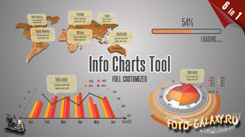 Info Charts Tool - Project for After Effects (Videohive)