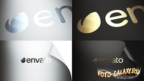 Realistic Logo - Project for After Effects (Videohive)