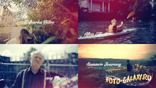 Summer Journey - Project for After Effects (Videohive)