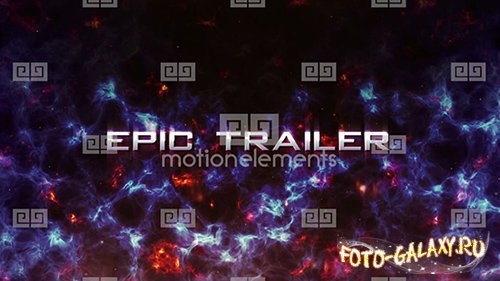 Into The Darc Epic Trailer- After Effects Project (MotionElements)