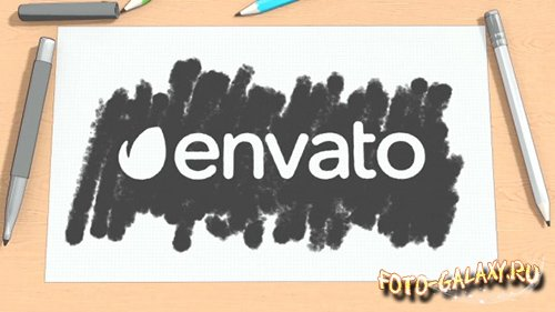 Cartoon Sketch Logo Reveal - Project for After Effects (Videohive)