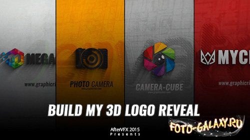 Build My 3D Logo Reveal - Project for After Effects (Videohive)