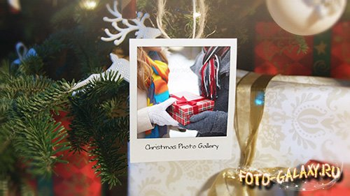 Christmas and New Year Photo Gallery - Project for After Effects (Videohive)