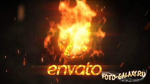 Flame Logo Reveal - Project for After Effects (Videohive)