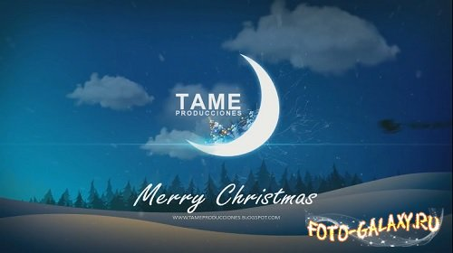 Christmas on the moon for Sony Vegas 13 скачать бесплатно с foto-galaxy