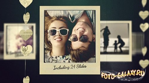 Adagio Sentimental Video Slideshow - After Effects Template (Rocketstock)