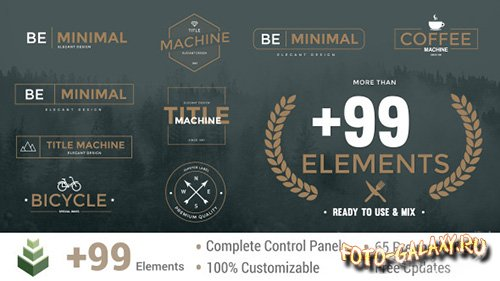 Title Machine - Project for After Effects (Videohive)