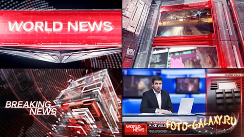 Broadcast Graphic Package - 01 - Project for After Effects (Videohive)