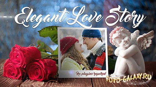 Elegant Love Story - Project for After Effects (Videohive)