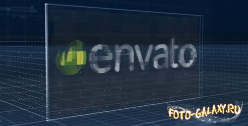 Holographic Corporate Logo Reveal - Project for After Effects (Videohive)