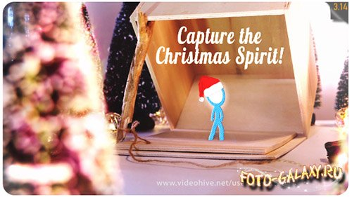 Capture the Christmas Spirit | Christmas Card Animation - Project for After Effects (Videohive)