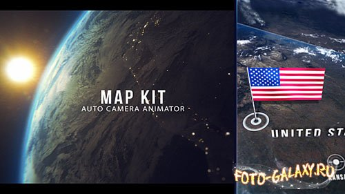 Map Kit 19205148 - Project for After Effects (Videohive)