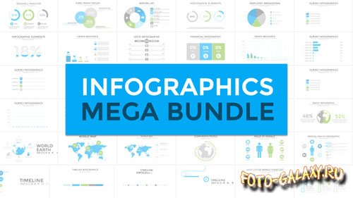 Infographics Mega Bundle - Project for After Effects (Videohive)