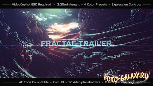 Fractal Trailer - Project for After Effects (Videohive)
