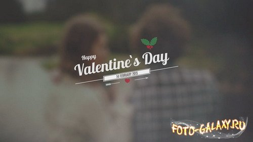Valentine`s Day Vintage Title - Project for After Effects
