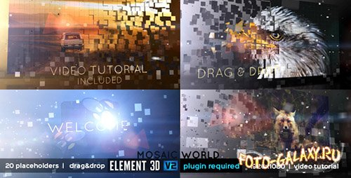Mosaic World - Project for After Effects (Videohive)