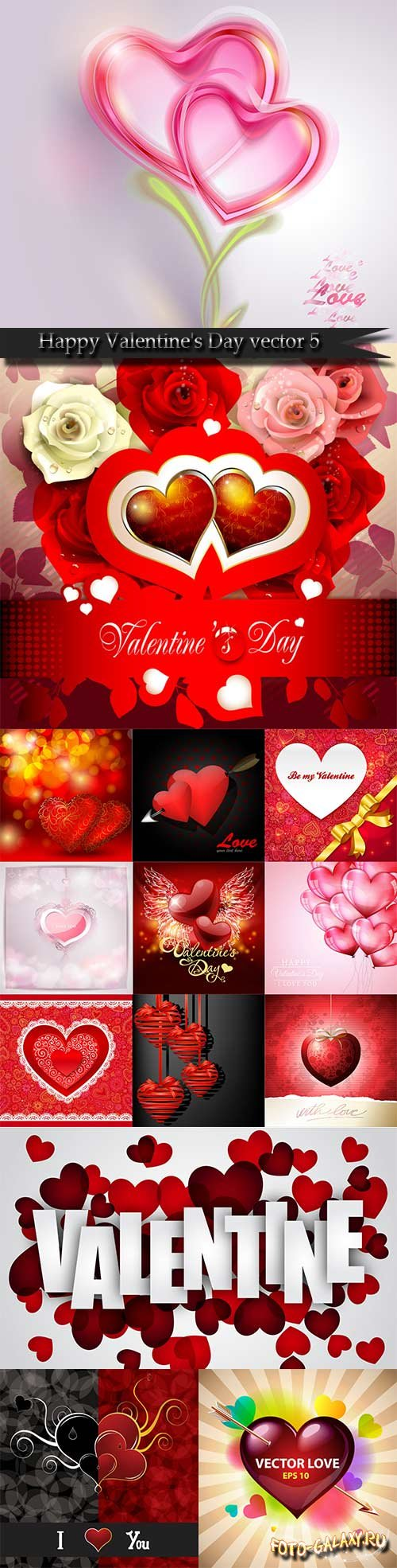 Happy Valentine's Day vector 5