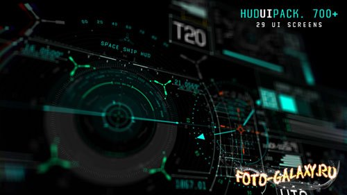 Hud UI Pack 700+ - Project for After Effects (Videohive)