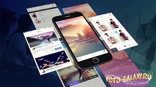 Phone App Presentation Template - Project for After Effects (Videohive)