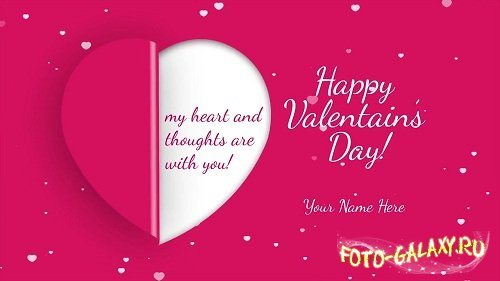 Valentine's Day Greetings - After Effects Templates