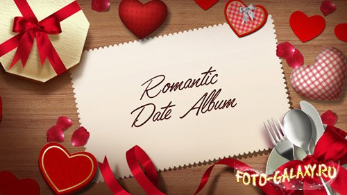 Romantic Date Album - Project for After Effects (Videohive)