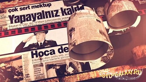 Cinematic Newspaper Intro - After Effects Templates