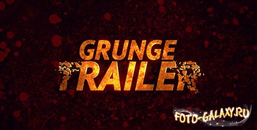 Grunge Trailer - Project for After Effects (Videohive)
