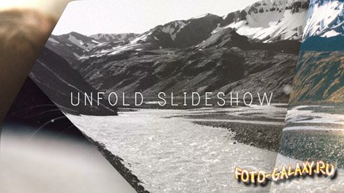 Unfold Slideshow - Project for After Effects (Videohive)