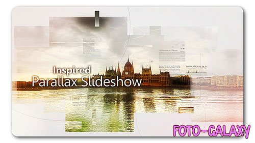 Inspired Parallax Slideshow 19195728 - Project for After Effects (Videohive)