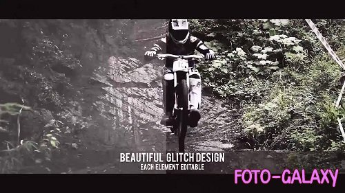 Glitch Intro - After Effects Templates