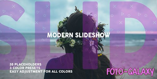 Modern Dynamic Slideshow - Project for After Effects (Videohive)