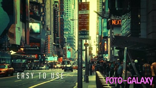 Urban Glitch Promo - After Effects Templates