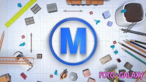 Logo Construct - After Effects Templates