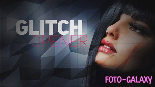 Multipurpose Glitch Opener - After Effects Templates