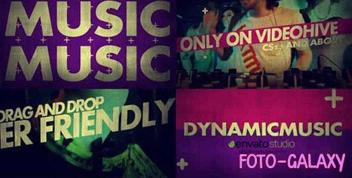 Music Promo - Project for After Effects (Videohive)
