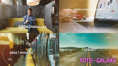 Parallax Timeline Slideshow - Project for After Effects (Videohive)