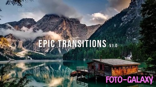 50 + Epic Transitions and Slideshow Pack (v1) - After Effects Templates