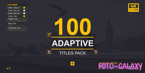 MoType | Adaptive Titles Pack - Project for After Effects (Videohive)